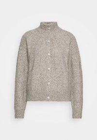 Bruuns Bazaar - AISHA EMILY CARDIGAN - Cardigan - light grey - 5