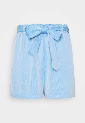 STRIPED  - Shorts - blue/white