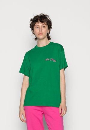 TEE - Jednoduché triko - green