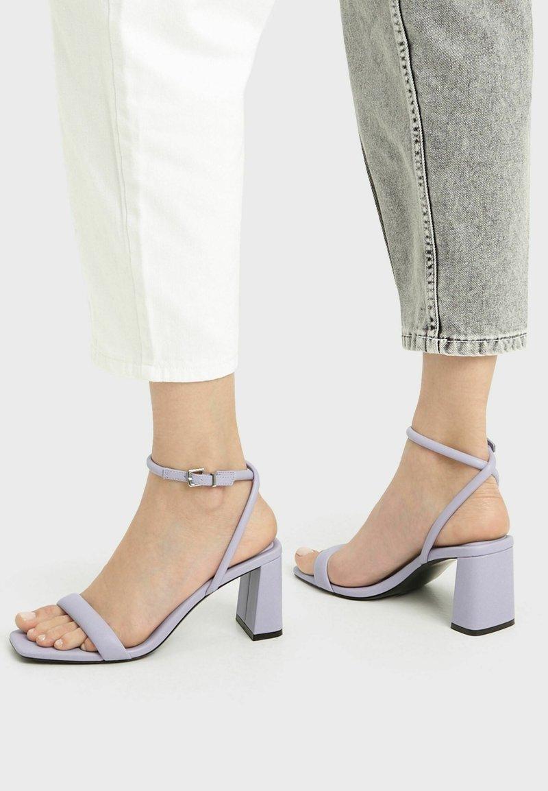 Bershka - Sandals - mauve