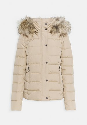 ONLLUNA QUILTED - Winter jacket - humus