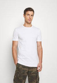 Pier One - 7 PACK - T-shirt - bas - white - 2