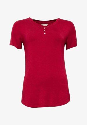 KRISTEN  - Pyjama top - burgundy