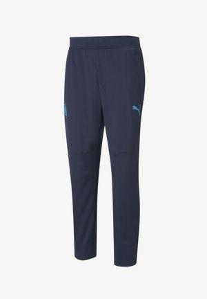 Tracksuit bottoms - peacoat-bleu azur