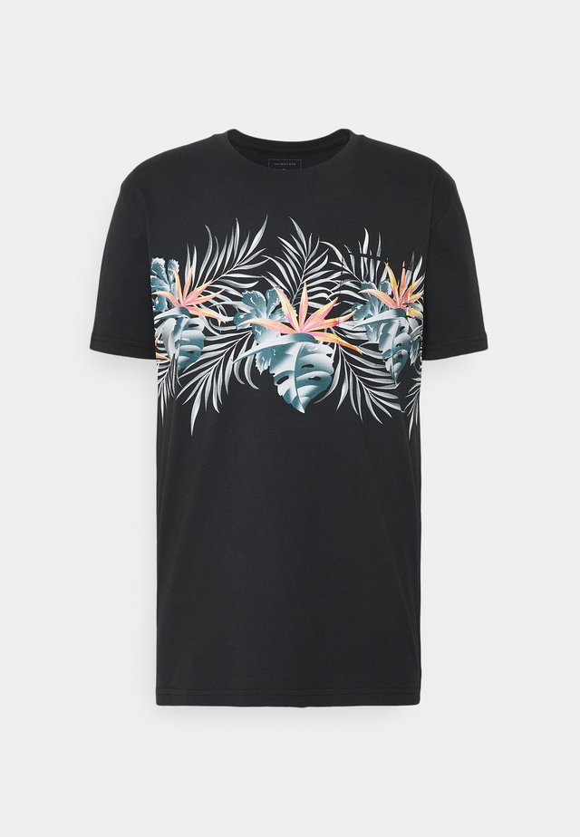 PARADISE EXPRESS TEE - T-shirt imprimé - black