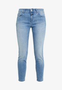 CLOSED - BAKER MID WAIST CROPPED LENGTH - Slim fit jeans - mid blue - 4