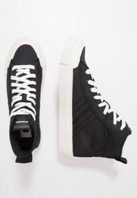 Diesel - ASTICO S-ASTICO MID LACE - Sneakers alte - black/white - 1