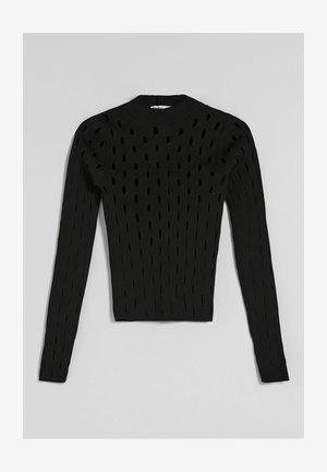 MIT RISSEN  - Maglietta a manica lunga - black