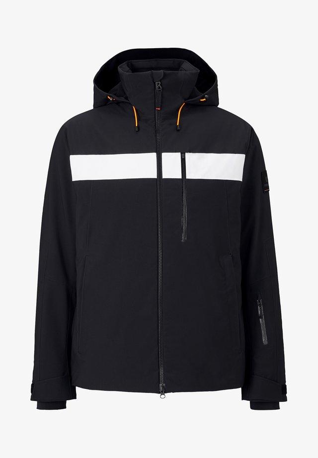 TALIO - Ski jacket - schwarz/weiß