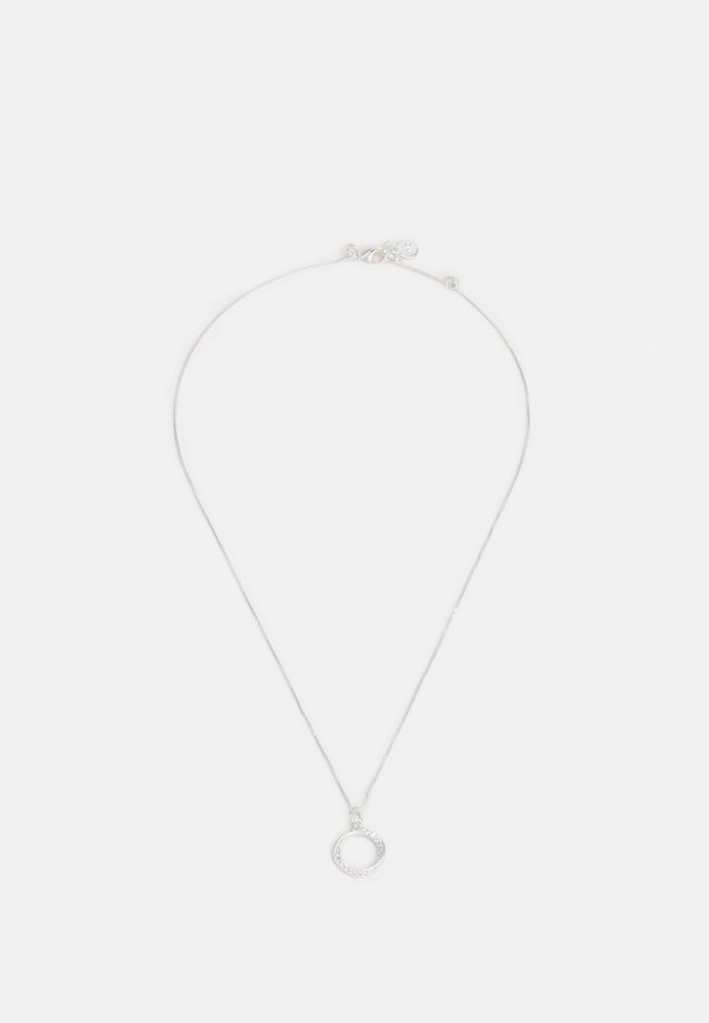 BESSIE SMALL PENDANT NECK - Halsband - silver-coloured