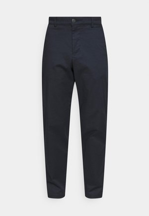 SLHSLIM TAPEREPTON FLEX PANTS  - Chino kalhoty - dark sapphire