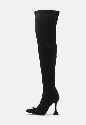 PAMELA - Stivali con i tacchi - black