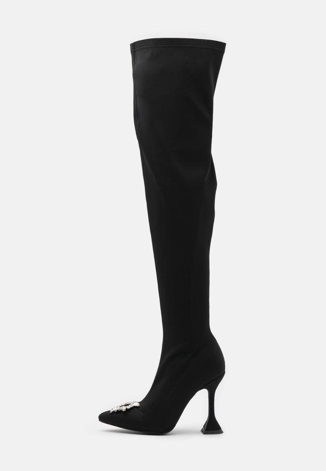 PAMELA - High heeled boots - black