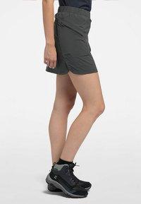 Haglöfs - LITE SKORT - Sports skirt - magnetite - 2