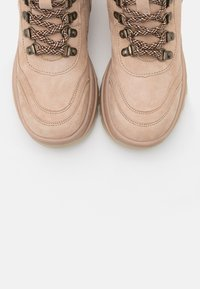 Tamaris - Lace-up ankle boots - cream - 5