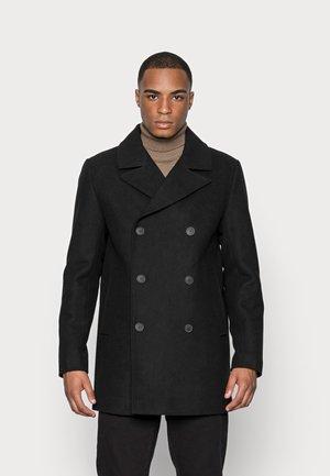 SLHWALES PEACOAT - Short coat - black