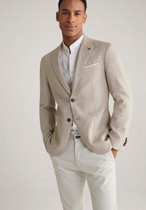 Suit jacket - beige/weiß
