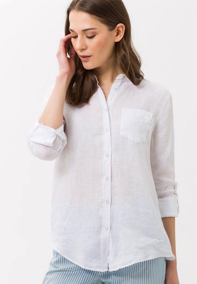 VICTORIA - Skjortebluser - white