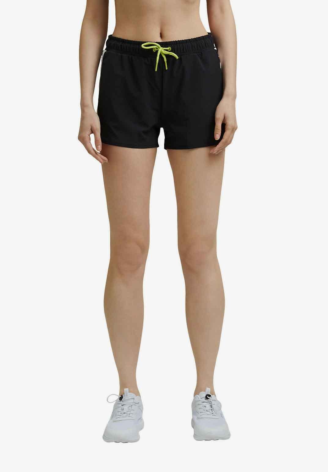 Femme MIT KONTRASTBLENDEN - Short de sport