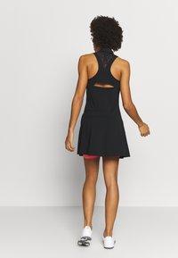 adidas Golf - DRESS - Sukienka z dżerseju - black - 2