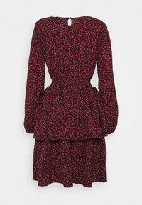 ONLY Tall - ONLTESSA DRESS - Day dress - black/mars red - 1