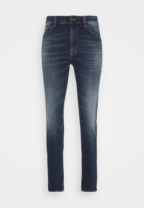 Tiger of Sweden Jeans EVOLVE - Jeansy Slim Fit - louie/ciemnoniebieski Odzież Męska RRFF