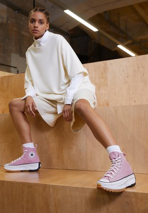 RUN STAR HIKE - High-top trainers - lotus pink/white/black