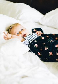 Little Unicorn - Muslin blanket - midnightrose - 3