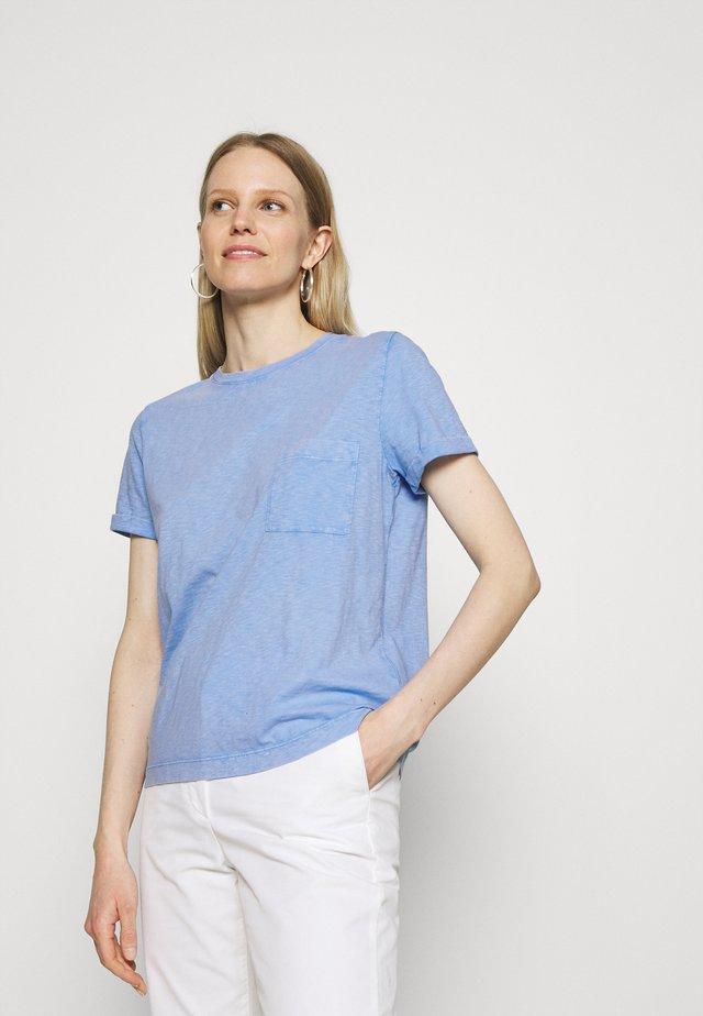 AUTH POCK TEE - T-shirt basic - blue