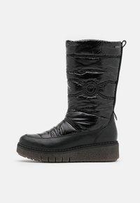 Tamaris - BOOTS - Śniegowce - black - 1