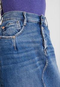 Le Temps Des Cerises - JIJI - Pencil skirt - blue - 5