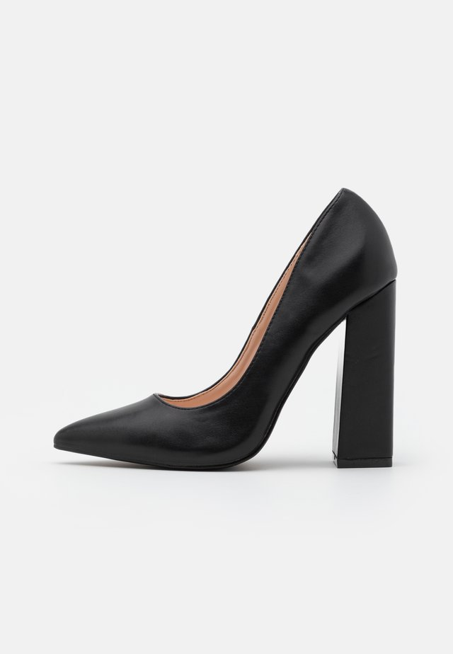 ADELAIDE - High heels - black matt
