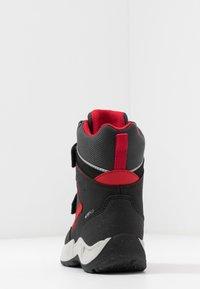 Geox - SENTIERO BOY WPF - Winter boots - black/red - 4