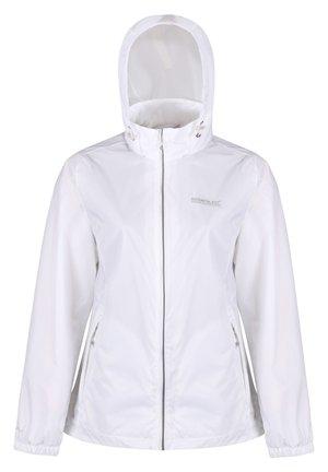 Waterproof jacket - white