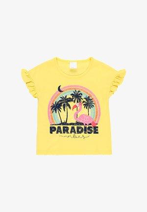 Print T-shirt - limone