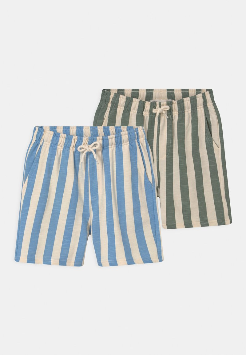 Cotton On - HENRY SLOUCH 2 PACK - Tracksuit bottoms - swag green/dusk blue