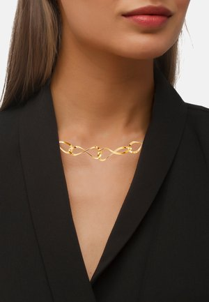 KETTE INFINITY - Necklace - goldfarbend