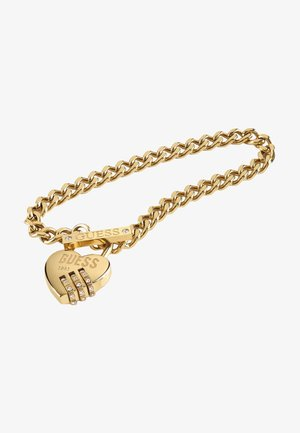 LOCK ME UP - Bracelet - goldenfarbe