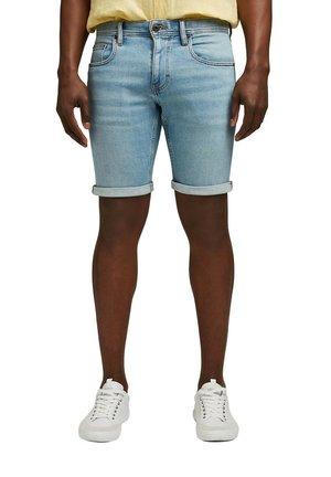 FASHION - Denim shorts - blue light washed