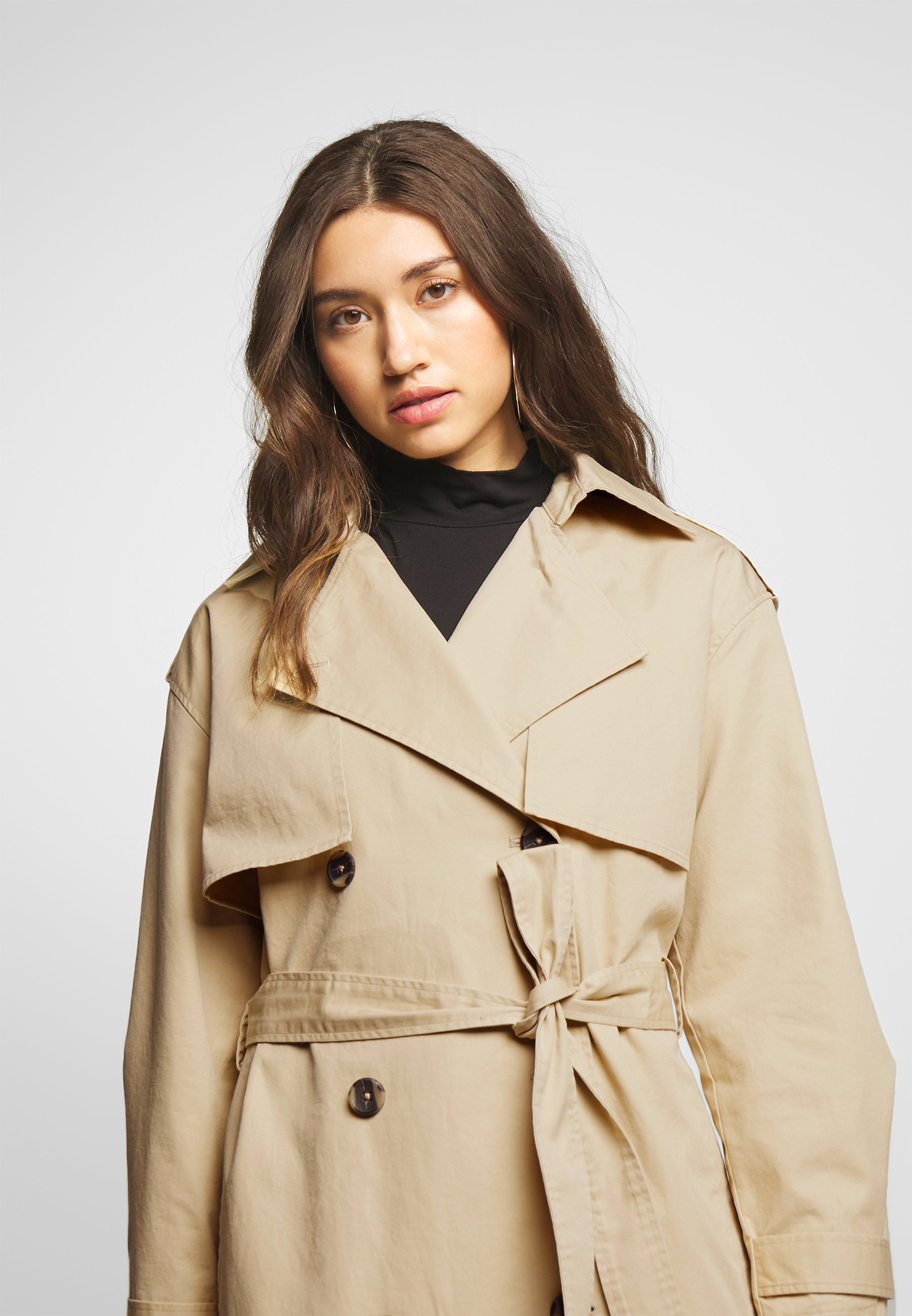 YAS YASSHILEE  - Trench - pebble - Manteaux Femme kOe5A