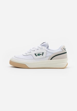 Trainers - white/dark green