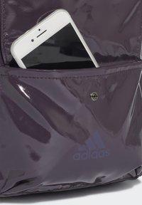 adidas Performance - GLOSSY EFFECT CLASSIC BACKPACK - Rucksack - purple - 4