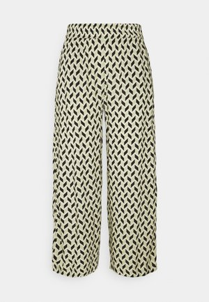 BYMMJOELLA CROP - Trousers - swamp mix