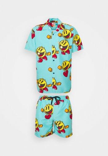 PAC-MAN WAKA-WAKA SET - Shorts - blue