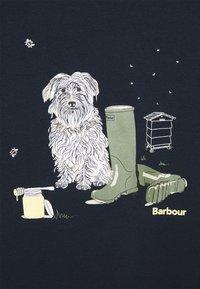 Barbour - ROWEN TEE - T-shirt con stampa - navy - 5