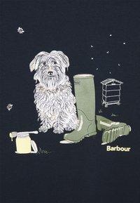 Barbour - ROWEN TEE - Print T-shirt - navy - 2
