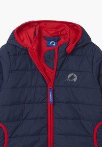 Finkid - VANUKAS UNISEX - Winter jacket - navy/red - 3