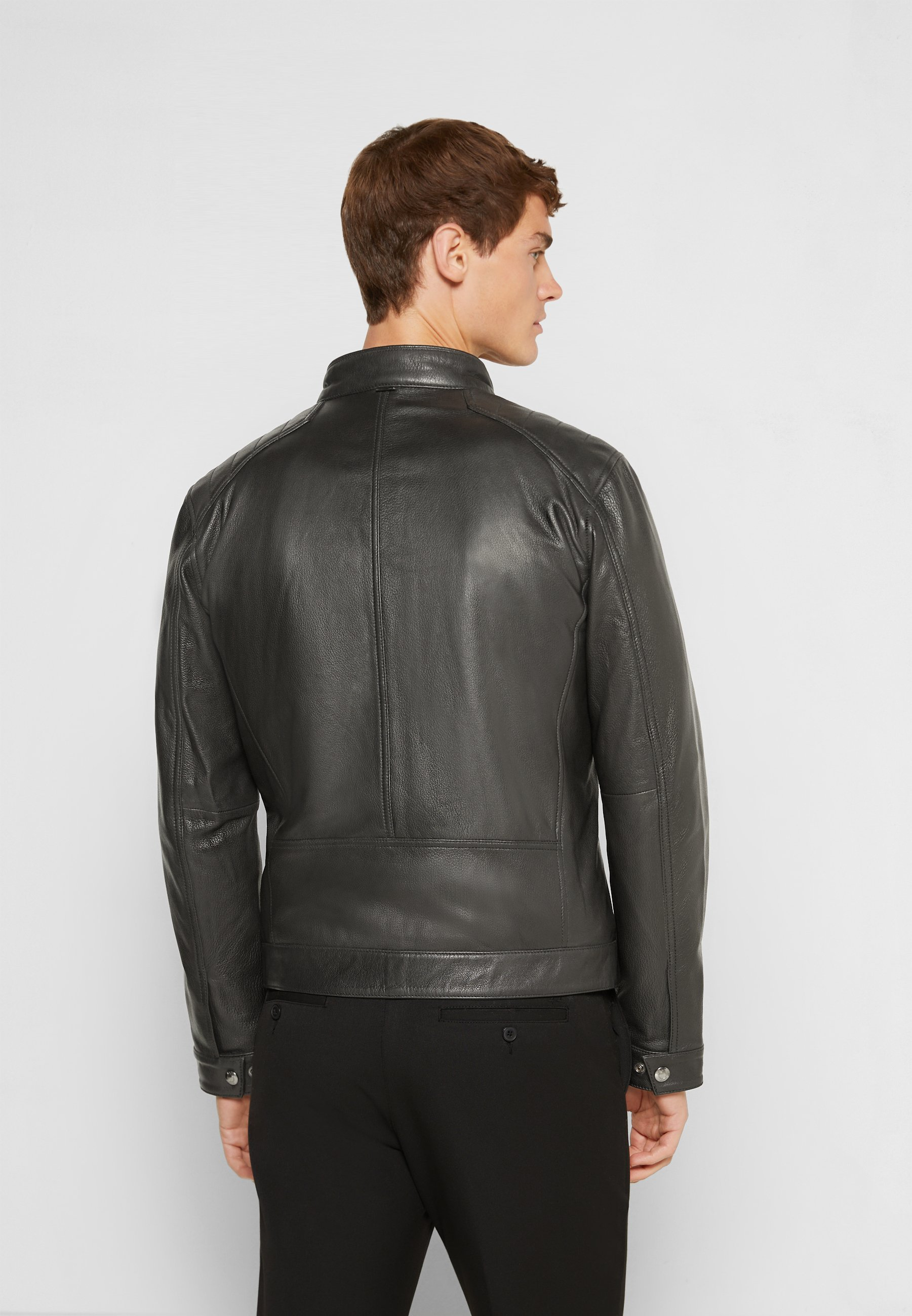 Men GARTH - Leather jacket