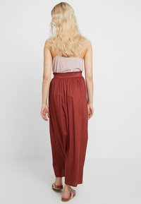 ONLY - ONLVENEDIG LIFE LONG SKIRT - Maxirock - henna - 3