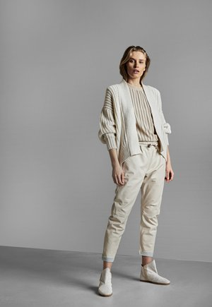 CHUNKY LOOSE FIT - Cardigan - new white
